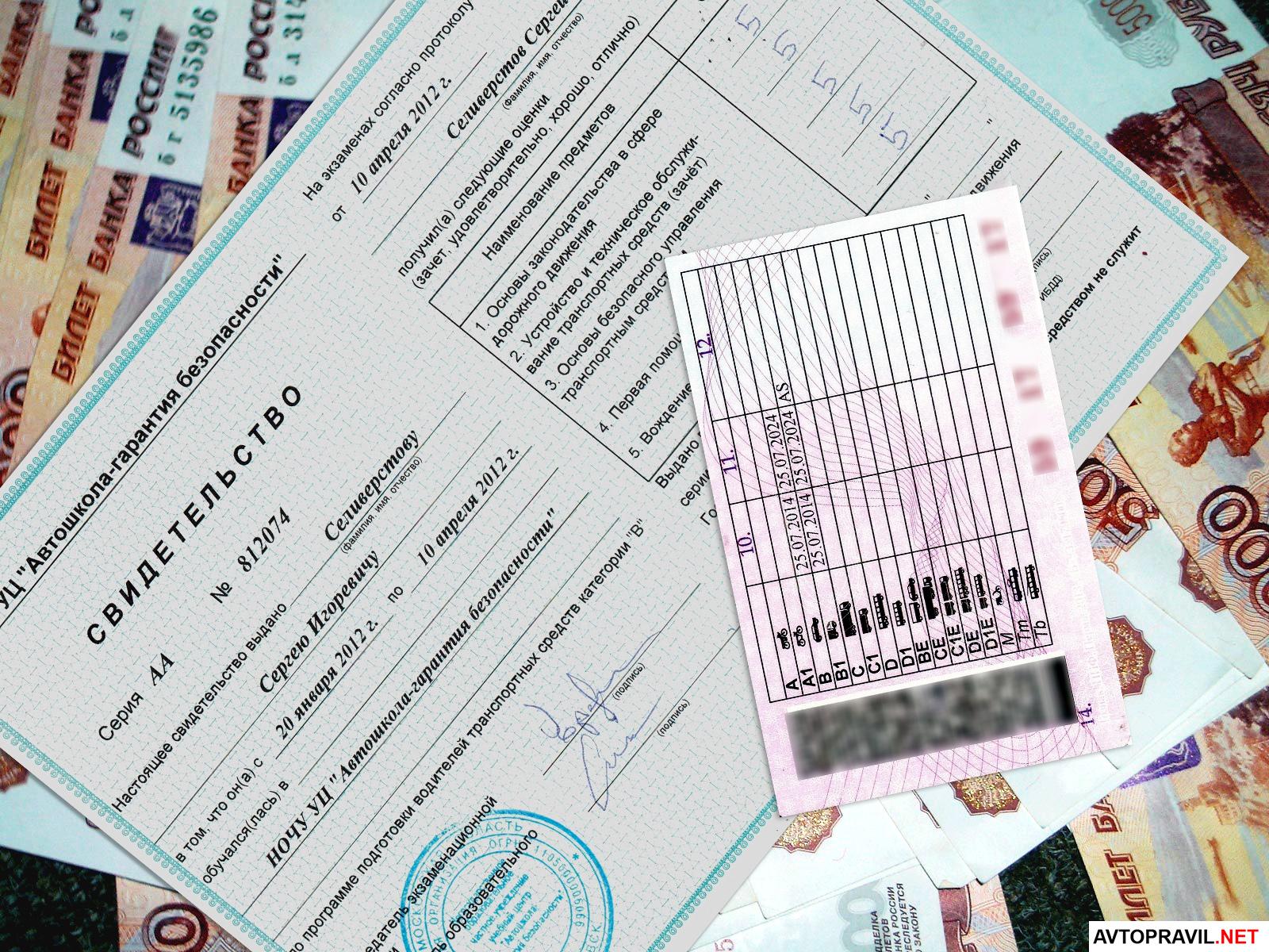 Получение прав после сдачи экзамена в ГАИ в 2019 году
