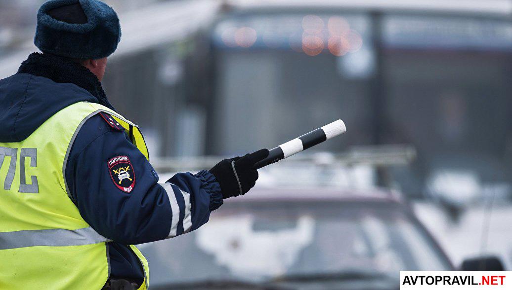 Инспектор гибдд на дороге