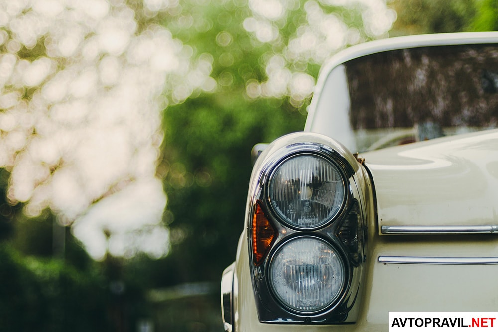 Автомобильная фара