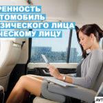 Форма доверенности на автомобиль от физического лица физическому лицу