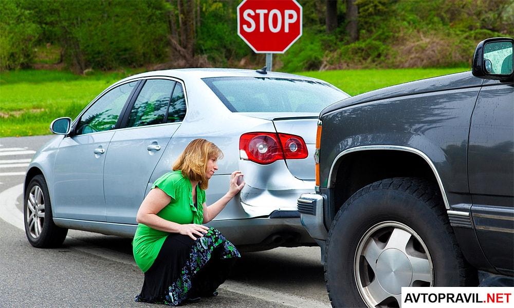 чем грозит неумышленное оставление места аварии