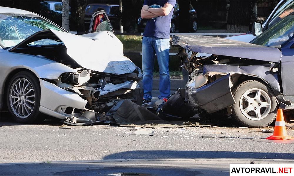 Дорожно-транспортное происшествие: памятка водителю при ДТП