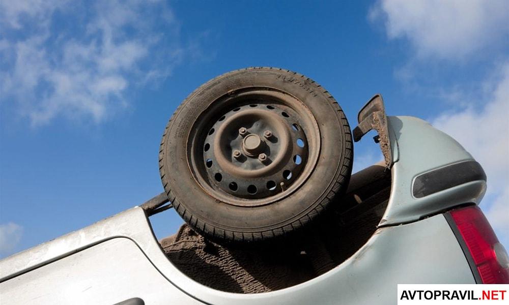 Повреждения автомобиля в результате ДТП