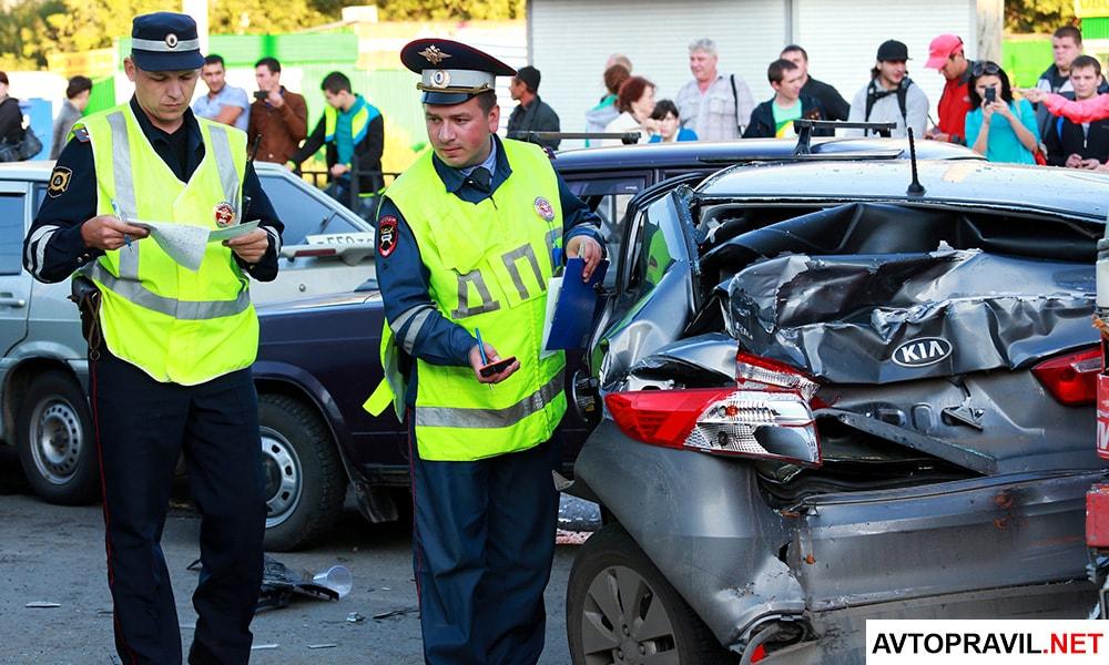 Гибдд будет оформлять аварии по новым правилам