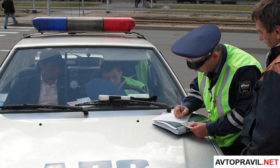 инспектор гибдд опрос свидетелей