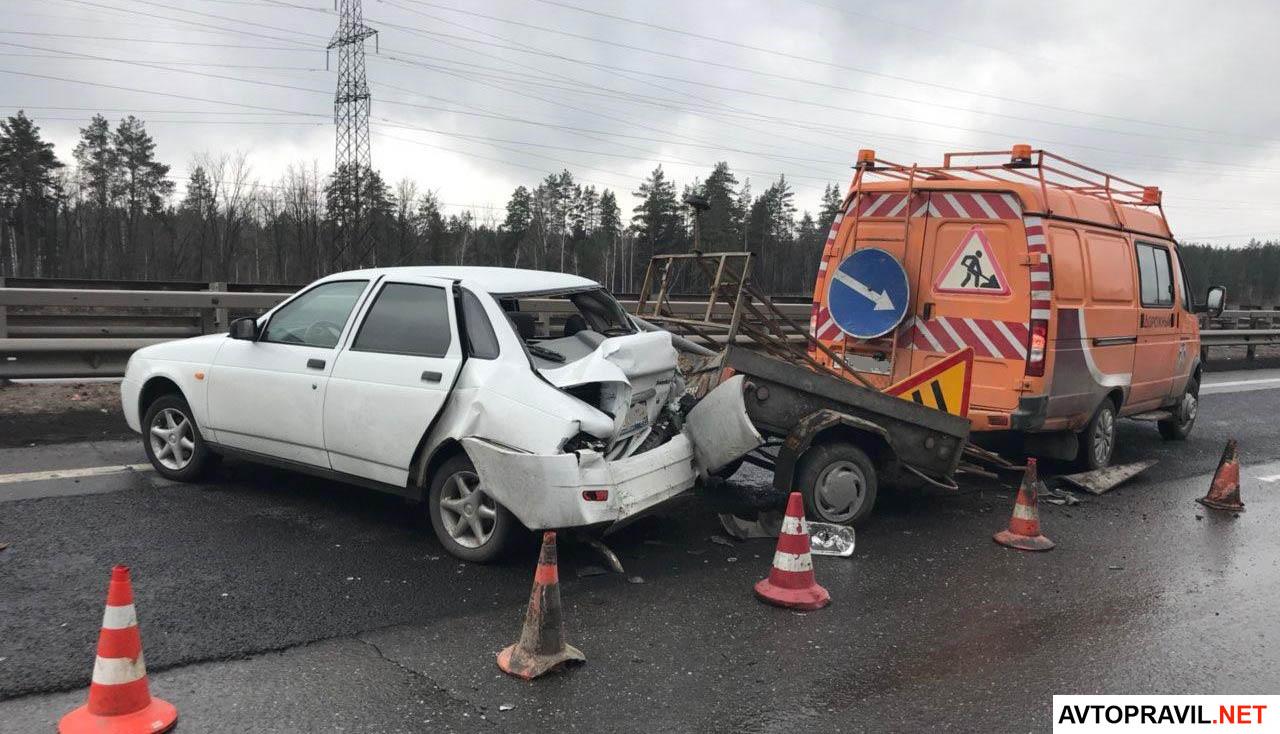ДТП по вине дорожных служб