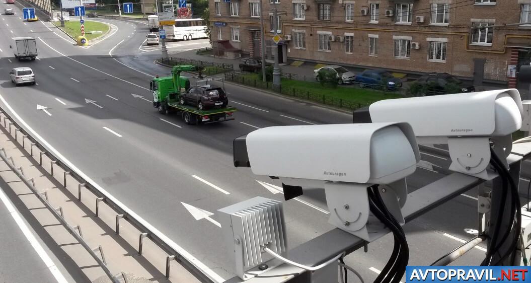 Уличные камеры видеофиксации