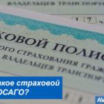 Страховой полис ОСАГО: что это такое и от чего защищает?